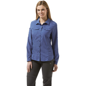 Craghoppers NosiLife Adventure Longsleeve Shirt Women blue